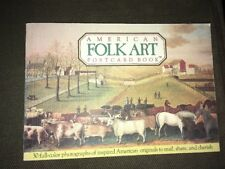 American Folklore Postcard Book 30 Photograph Prints From National Museum 1800's