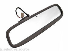 Lexus SC300 SC400 OEM Soarer Oak Brown Rear View Mirror Glass Electronic Dimmer