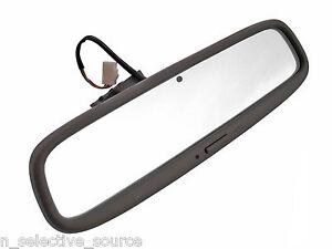 Lexus SC300 SC400 OEM Soarer Oak Brown Rear View Mirror Glass Electronic Dimmer