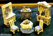 "Avon Miniature Furniture ""The Kitchen Series"" Collectibles Victorian Memories"