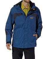 Jack Wolfskin Mens Topaz Jacket Ensign Blue - Size S
