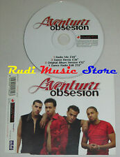 CD Singolo AVENTURA Obsesion 2002 italy PLANET RECORDS PLT058CDS S5