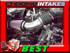K&N+RED NEW 99 00 01 02-04 JEEP GRAND CHEROKEE 4.0L I6 4.7L V8 AIR INTAKE KIT S