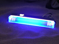 Longwave UV lamp Detect Fluorescent Minerals,Watermarks,etc.