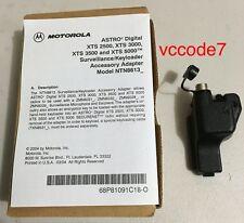 Motorola KVL Adapter Surveillance kit/keyload adaptor XTS5000, XTS3000, XTS2500