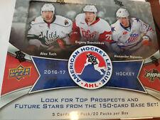 2016-17 UPPER DECK AHL SEALED BOX 20 PACKS TUCH ++ 3 AUTO'S PER BOX +++