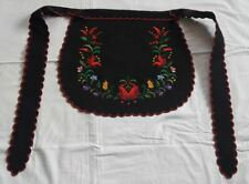Apron handmade embroidery and serrated, with KALOCSA pattern - 3497