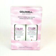 Goldwell Dusalsenses Color Brilliance Shampoo and Conditioner Set 33.8oz Bottles