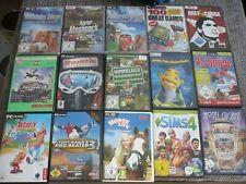 PC Spielesammlung 35 Spiele teilweise noch eingeschweißt