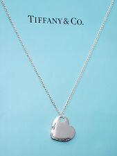 Tiffany & Co Due Cuori Collana con pendente in Argento Sterling
