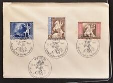 AUSTRIA Nazi Germany 1942 Cpl  Vienna Postal Congress Set Ostmark Cover/FDC +Pmk