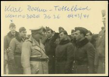 New Art Print of SIgned WWII Photo 8 1/2X11 Karl Boehm-Tettelbach German Aces