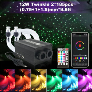 Twinkle Star Car Top Liner Ceiling Light Optic Fiber Phone APP & Remote Control
