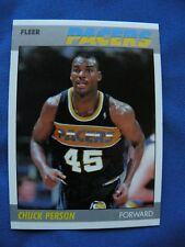 1987/88 Fleer R/C Chuck Person Pacers card #85 NBA Basketball $1 S&H