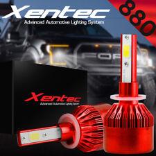 XENTEC Cree LED Headlight 880 H27 881 6000K Low Beam Fog DRL Bulb White