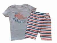 NWT Boy's Gymboree Shark short sleeve shirt shorts gymmies pajamas 4 5 6 7 8 10