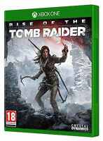 Rise Of The Tomb Raider Game Xbox one -MINT- XBOX ONE X ENHANCED - 1st Class Del