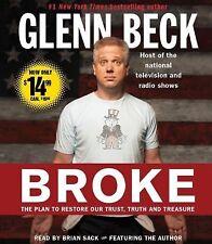 Glenn Beck BROKE Audiobook 7 CDs The Plan to Restore Our Trust Truth & Treasure