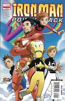 Iron-Man And Power Pack Comic Issue 1 Modern Age First Print 2008 Sumerak Marvel