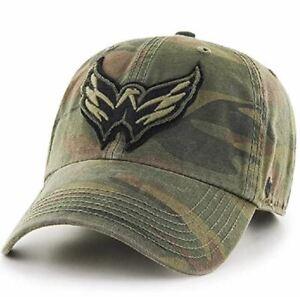 Washington Capitals '47 Camo Movement Clean Up Adjustable Cotton Hat Cap NHL