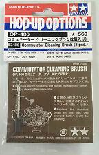 Tamiya 53486 Commutator Cleaning Brush (2 Pcs) (Upright Brush Version) NIP