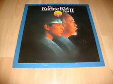 THE KARATE KID PART II LP DE VINILO VINYL BANDA SONORA ORIGINAL SOUNDTRACK