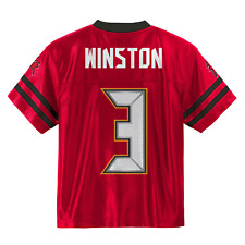 (2017-2018) Tampa Bay Buccaneers JAMEIS WINSTON nfl Jersey Youth M-Medium (10-12