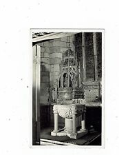 CORNISH POST CARD REAL PHOTO THE HOLY TRINITY CHURCH ST. AUSTELL