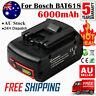 6.0AH 18V Li-Ion Battery For Bosch BAT609 BAT618 17618 25618-01 2 607 336 091 FD