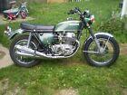 1971 Honda CB  1971 HONDA CB 750 FOUR RARE SURVIVOR VALLEY GREEN ALL ORIGINAL CONDITION