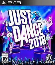 PLAYSTATION 3 - JUST DANCE 2018 - BRAND NEW - FREE 1ST CLASS SHIPPING
