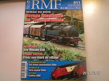 **d RMF n°511 La 2D2 9105 de Roco / Voitures Corail en H0 / Pacific 231 H et K