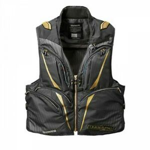 SHIMANO VE-011S 2-Way Fishing Vest LIMITED PRO Water Repellent Fast Ship Japan