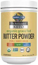 Butter Powder Garden of Life Keto Organic Grass Fed Fuel 30 Serv 300 g 10.58 0z