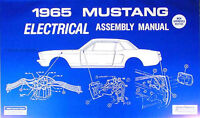 1965 Ford Mustang Electrical Assembly Manual 65 Wiring Diagram Schematics