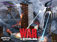 War Of the Worlds 2005 Tripods 1/350 Scale Diorama Model Kit 18WPH08