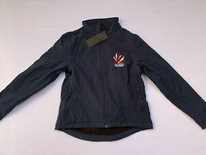 Great Britain Women's Hockey Jacket Softshell Navy Full Zip Logo Coat UK SIZE XS