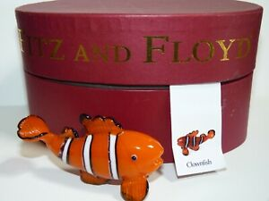 Fitz and Floyd Glass Menagerie Clown Fish