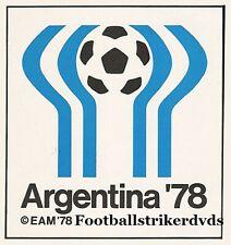 1978 Fifa World Cup Group 4 Peru vs Iran Dvd