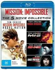 Mission Impossible 5 movie Blu Ray Region B NEW Tom Cruise Ghost Protocol