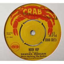 Derrick Morgan / Reggaeites Moon Hop (Rocksteady) - 45T 7'