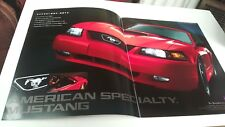 1990s ? FORD MUSTANG Japanese Issue Sales Brochure  RARE