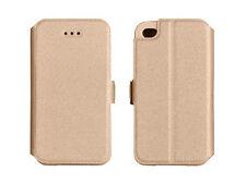 % 3 Book Case Flexi Hülle Cover Handy Tasche Für Samsung Galaxy J3 2016 GOLD