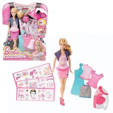 Barbie UFFICIALE ferro su Stile Bambola + 30 accessori di abbigliamento NUOVO Giocattolo Regalo Ragazze
