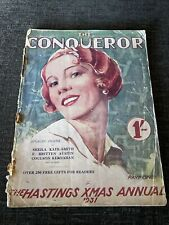 More details for the conquerer - hastings christmas magazine 1931 - hastings round table