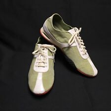 Cole Haan NikeAir Green Suede Leather Sneakers Casual Bria Women's 8 Lace Up