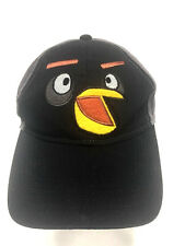 Angry Birds Hat Adult Black Gray Baseball Cap Snapback