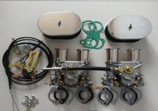 TWIN fajs carb kit 45dcoe 45 DCOE CARBURETOR FOR VOLVO B18/B20 rep. weber kit