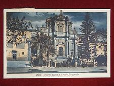 NOTO Villetta Ercole e Scuola Magistrale - anim, viaggiata, anni 30 #6841