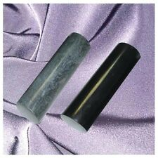 Pharaonen Zylinder,Schungit+Talkchlorit,100 x 30 mm, poliert, Zertifikat!